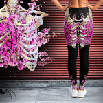 Hell Flower Garden Leggings - NeoSkull