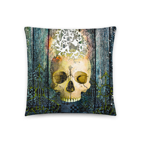 Faithful Friend Throw Pillow - NeoSkull