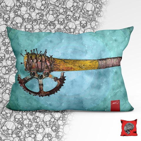 Zombie Killer Axe Post Apocalyptic Pillow, Pillow Fight Heroes - NeoSkull