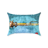 Major Authority Mace Post Apocalyptic Pillow, Pillow Fight Heroes - NeoSkull
