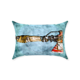 "Modded ""Right to the Point"" Axe Post Apocalyptic Pillow, Pillow Fight Heroes - NeoSkull"