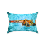 Monkey Wrench Post Apocalyptic Pillow, Pillow Fight Heroes - NeoSkull