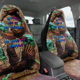 Crow Demons and Angels Car Seat Cover - NeoSkull