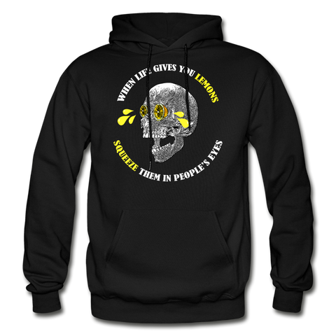 When Life Gives You Lemons Punk Style Hoodie - NeoSkull
