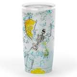 When live gives you lemons 20oz Tumbler - NeoSkull