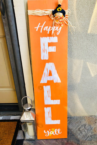 Porch Fall Sign