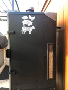 Barbecue/Smoker Sticker