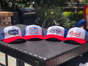 Patriotic Trucker Hats