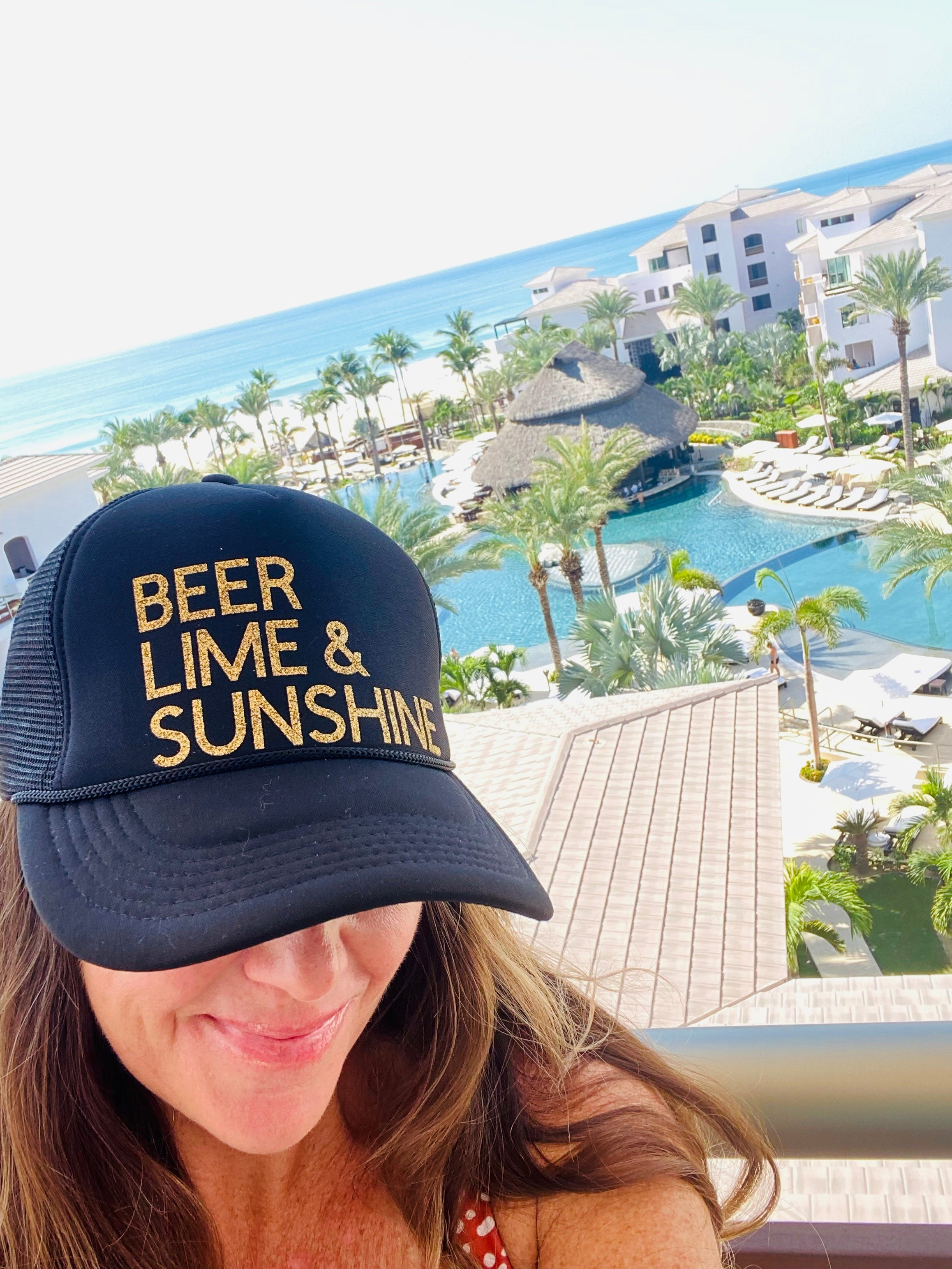 Beer Lime & Sunshine Trucker Hat
