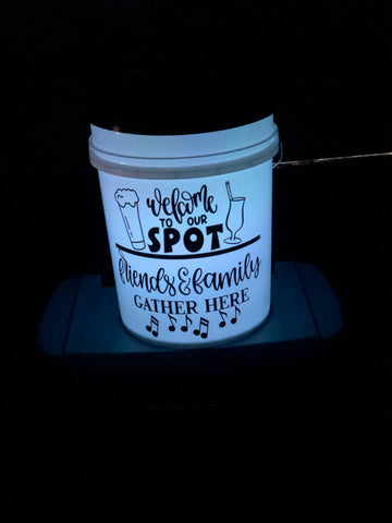 Light up Bucket