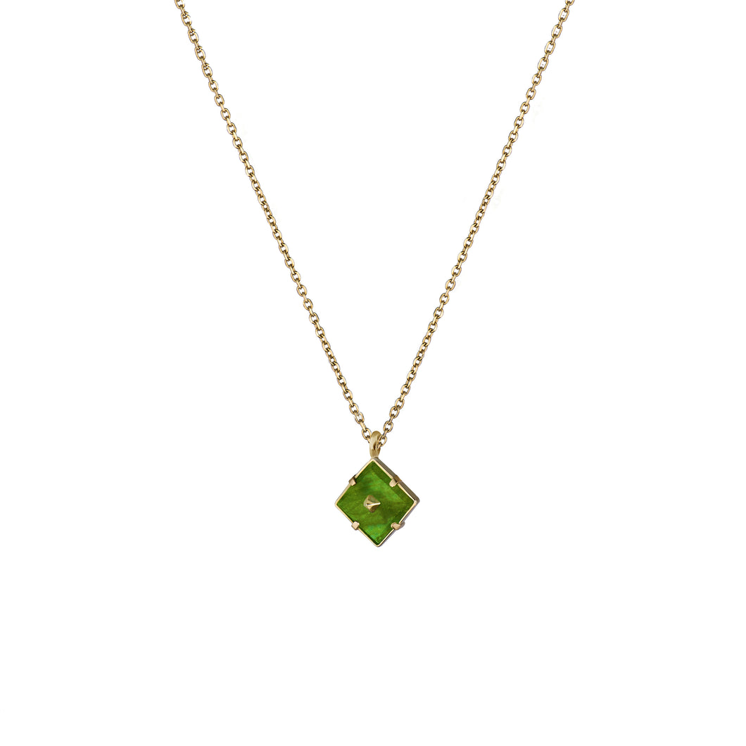 Mini Squared Pin Necklace
