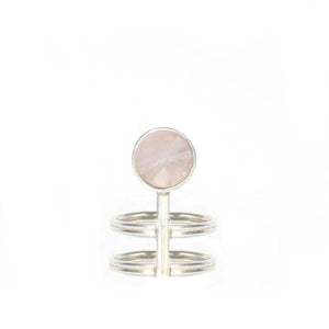 Smokey Rose-Quartz Ring