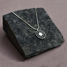 Duo Necklace - Flippable Stone