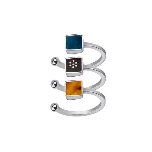 Stackable Mixed Rings