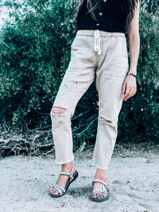 Woodstock Distressed Pants