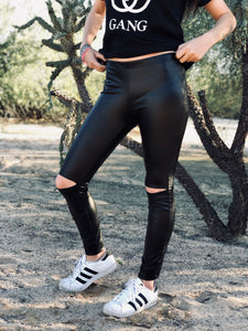Jett Black Leggings