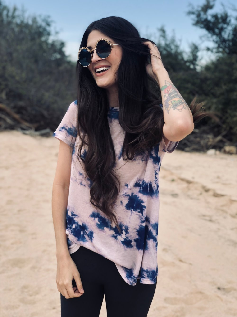 Cotton Candy Tie Dye Tee