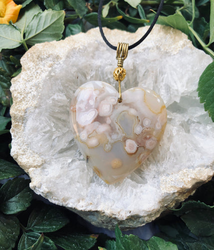 Cherry Blossom Agate
