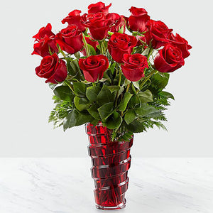 Red Roses 24 Units for Miami - Flores 24 Horas