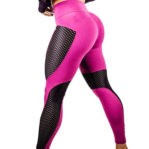 2019 New Quick-drying Yarn Leggings Fashion Ankle-Length Legging Fitness Black Leggins Push Up Pants Jegging Gothic Legging