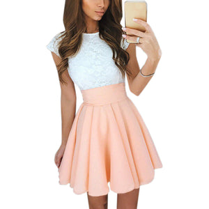 Summer Flare Dress Mini A-Line