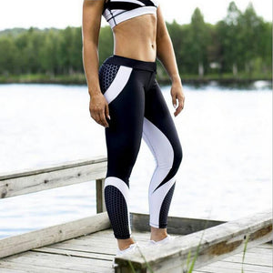 Women Pants Fashion Hot Sale 3D Print Skinny Workout Fitness Leggings Comfortable Trousers Elastic Cropped Pants Wholesale F#J11
