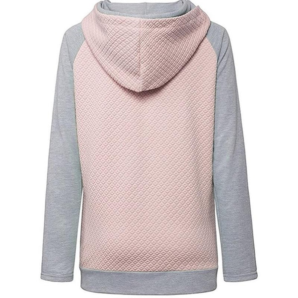 2018 New Fashion EW PEOPLE Print Sweatshirts Tops Hoodies Women Pockets Casual Funny Youth