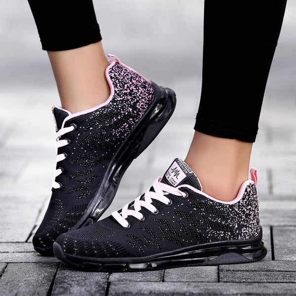 Women's Vulcanized fashion Sneakers Ladies Lace-up Casual Shoes Breathable Walking Canvas Shoes Graffiti Flat