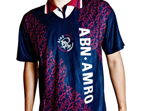 ajax 1995 away retro football shirt
