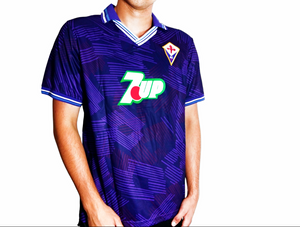 Fiorentina FC- 1992/93 Retro Football Shirt - the-retrosoccerlocker