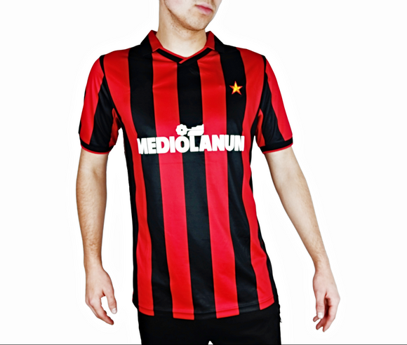 AC Milan 1991 shirt 90 replica football
