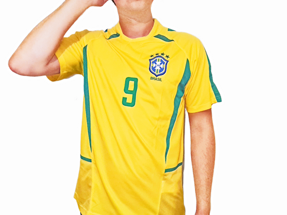 Brazil 2002 kit - World Cup Football Shirt - the-retrosoccerlocker