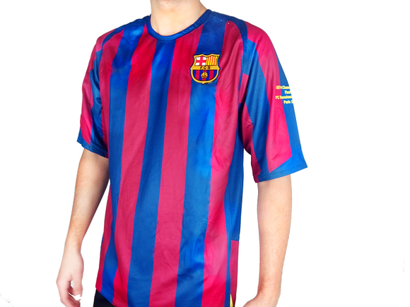 Barcelona 2006 Kit - 05/06 Retro Football Shirt - the-retrosoccerlocker