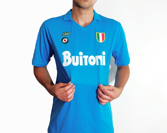 1987/88 Napoli Retro Shirt - Football Kit - the-retrosoccerlocker