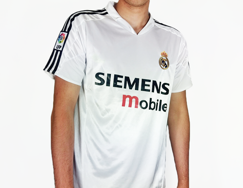 real madrid 2005 kit