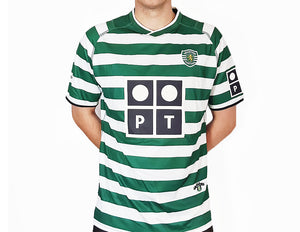 Sporting Lisbon - 2002/03 Retro Football Shirt - the-retrosoccerlocker