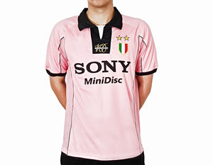 Juventus - 1997/98 Retro Pink Football Kit - the-retrosoccerlocker