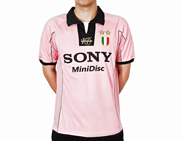 Juventus 1997 pink kappa football shirt