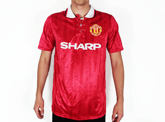 Manchester United FC - 1992/93 Retro Home Shirt - the-retrosoccerlocker