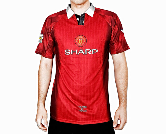 Manchester United FC - 1996/97 Football Shirt - the-retrosoccerlocker