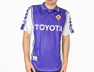 Fiorentina FC - 1999/00 Football Shirt - the-retrosoccerlocker