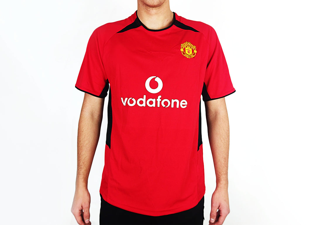 Manchester United - 2003/04 Home Football Shirt