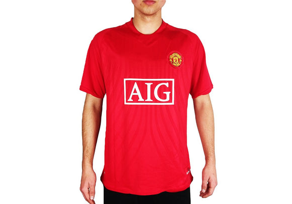 Manchester United - 2007/08 Home Shirt - the-retrosoccerlocker