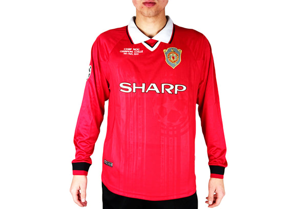 Manchester United - 1999 Vintage UCL Final Shirt - the-retrosoccerlocker