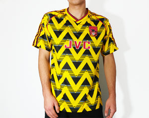 Ian Wright - 1991/92 Retro Banana Football Shirt