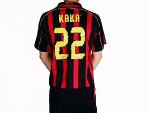 ac milan retro shirt