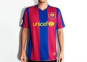 Barcelona FC - 2007/08 Retro Football Shirt - the-retrosoccerlocker