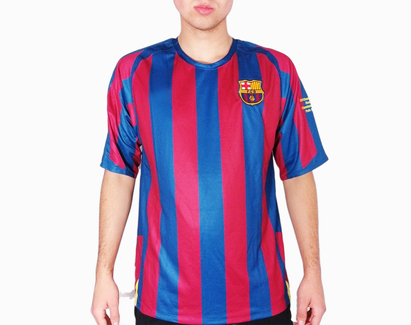 Barcelona 2006 kit replica retro football shirt