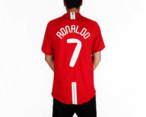 new products 1fb37 318dc Cristiano Ronaldo - 2007/08 MUFC Football Shirt