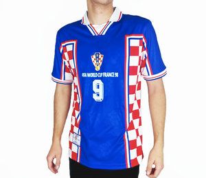 replica Croatia 1998 jersey